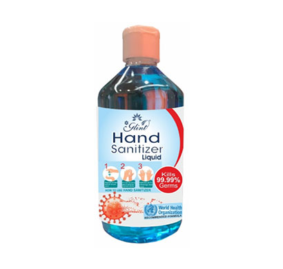 glint hand sanitizer liquid 80% ethanol, who recommended ( 500ml)