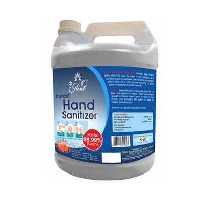 glint instant hand sanitizer 70% ethanol ( 5000ml)