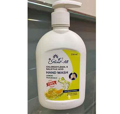 glint hand wash antibacterial 250 ml( lemon)