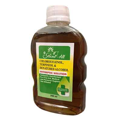 glint antiseptic solution (250 ml)