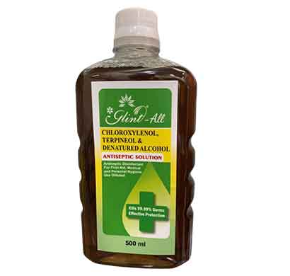 glint antiseptic solution (500 ml)
