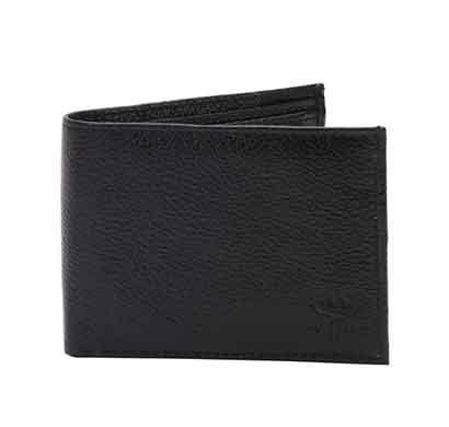 hamston black leather men wallet