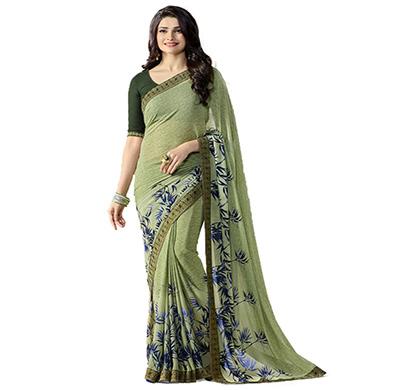 hasti fashion women saree (6.30mtr),mehndi