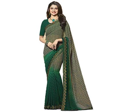 hasti fashion women saree (6.30mtr), dark green