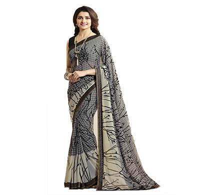 hasti fashion women saree (6.30mtr), gray