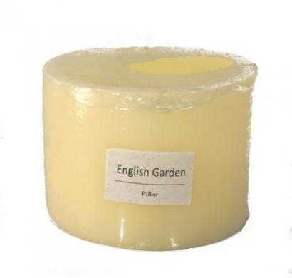 hollow scented piller candle
