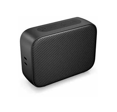 hp 350 (2d802aa) with noise reduction built in microphone and ip54 water-resistant 4.9 w bluetooth speaker (black)