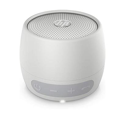 hp (2d801aa) 360 mono portable silver bluetooth speaker