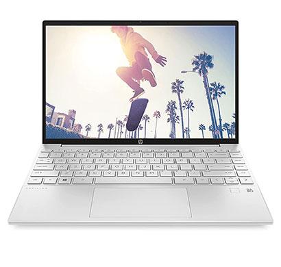 hp pavilion aero (13-be0030au) thin & light laptop ( amd ryzen 5-5600u/16gb ram/ 512gb ssd/windows 10/ms office/13.3-inch wuxga/mag c-deck-fpr/1 kg/ 1 year warranty), natural silver