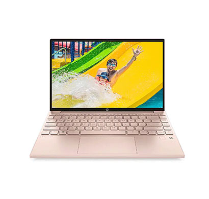 hp pavilion aero 13-be0190au (4r829pa) laptop (amd ryzen 5-5600u/ 16gb ram/ 512gb ssd/ windows 10/ ms office/ 13.3-inch wuxga/ mag c-deck-fpr/ 1 year warranty), rose gold