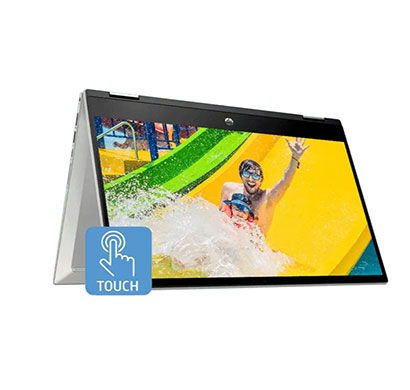 hp pavilion x360 convertible 14-dw1040tu (2r2h7pa) laptop (intel core i7/ 11th generation/ 8gb ram/ 512gb ssd/ windows 10 home + ms office/ 15.6-inch/ 1 year warranty) silver