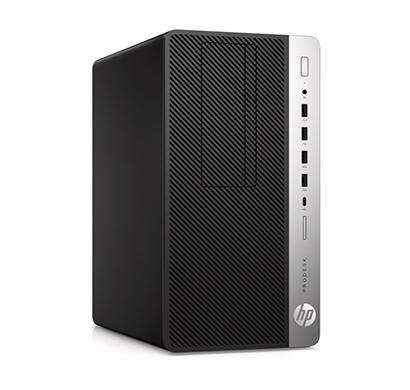 hp prodesk 600 g5 microtower business pc (intel core i7/ 8th gen / 8gb ram/ 1tb hdd/ windows 10 pro/ dvd-rw/ rx 550 4gb graphics/ 5 years warranty) black