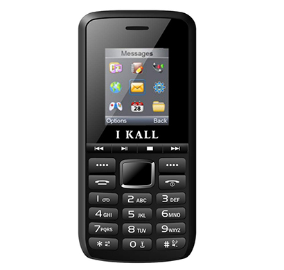 ikall (k27) multimedia mobile with 1.8 inch display and short music keys ( multicolour)