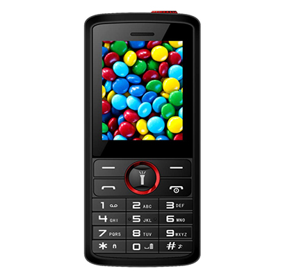 ikall (k51) feature phone dual sim multimedia mobile with camera and 1.8 inch display ( multicolour)