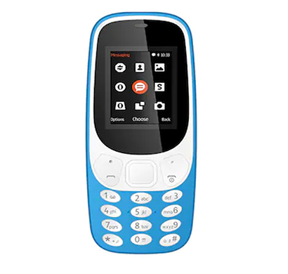 i kall k3310 feature phone (dual sim, 1.8 inch display, multimedia),multicolour