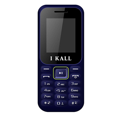 i kall k130 feature phone ( dual sim, 1.8 inch colour display, multimedia, call recording), multicolour