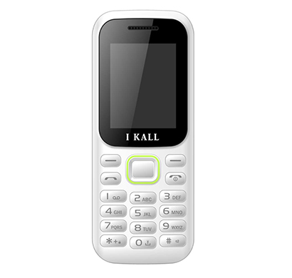 ikall k31 feature phone (dual sim, 1.8 inch colour display, multimedia, mobile without camera), multicolour