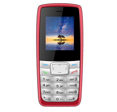 ikall k72 feature phone (dual sim,1.8 inch colour display multimedia phone without camera), multicolour