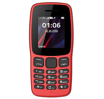i kall k100 feature phone ( dual sim, 1.8 inch colour display, multimedia, phone without camera),multicolour