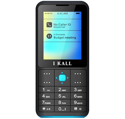 ikall k111 feature phone (dual sim, 2.4 inch display multimedia, call recording,camera),multicolour