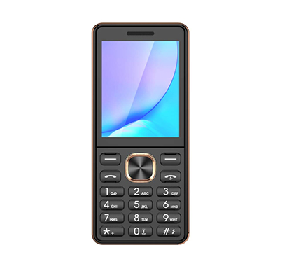 ikall k18 new feature phone (2.4 inch, dual sim, camera,multimedia), multicolor