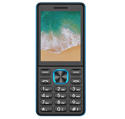 ikall k444 feature phone (2.4 inch display, dual sim,multimedia,bright torch), multicolor