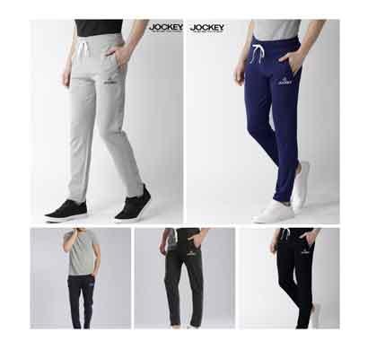jockey men's cotton track pants (6109)