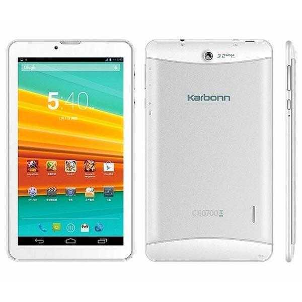 Karbonn ST72 Tablet 4 GB (White)
