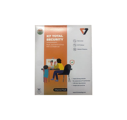 k7 total security - 1 pc, 1 year (5 cd)