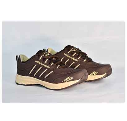 lakhani sports shoes for men brown