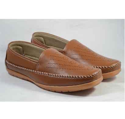 lakhani casual shoes tan (jump 01) for men