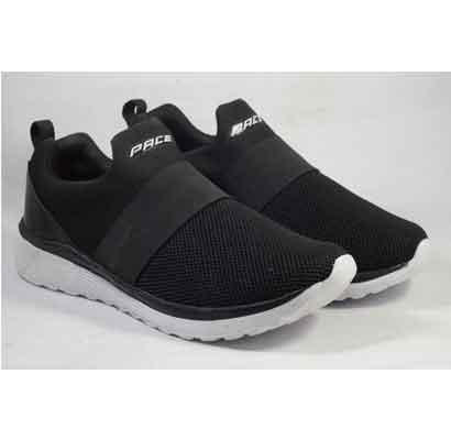 lakhani sports shoes black (8011) for men