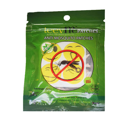leevme anti mosquito patches 100% natural for 12 hrs protection ( multicolor )
