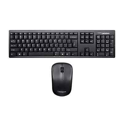 Lenovo 100 Wireless Keyboard & Mouse Combo (GX30L66303)