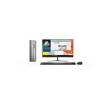 Lenovo Ideacentre 3 90NB0020IN Desktop (Intel Core i3-10100/ 10th Gen/ 4GB RAM/ 1TB HDD/ DOS/ No ODD/ Wired KeyBoard & Mouse/ 18.5 Inch Monitor) 1 Year Warranty