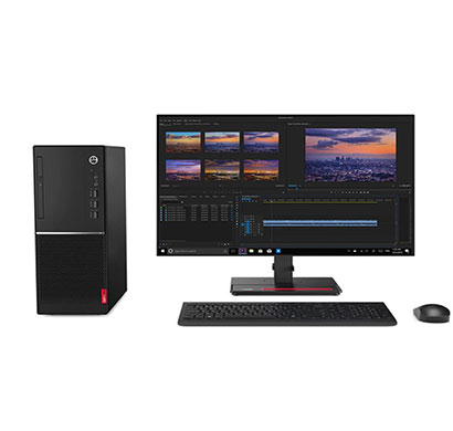 lenovo v530 sff (11bls06l00) desktop pc ( intel core i3/9th-gen/4gb ram/1tb hdd/windows 10 pro/19.5 inch monitor/3 years warranty