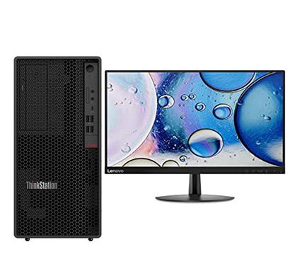 lenovo thinkcentre p340 (30dhs0qj00) desktop pc (intel core i5/ 10th gen/ 8gb ram/ 1tb hdd/ dos/ 19.5 inch screen/ no odd), 3 years warranty