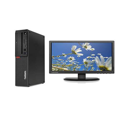 lenovo thinkcentre m720s (10susf4500) desktop pc (intel core i3-9100/ 9th gen/ 8gb ram/ 1tb hdd/ windows 10 pro/ 19.5 inch tft), 3 years warranty