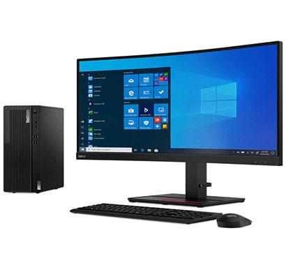 lenovo thinkcentre m70t (11evs04m00) desktop (intel core i5-10400/ 10th gen/ 8gb ram/ 1tb hdd/ no os/ integrated graphics / c19 18.5