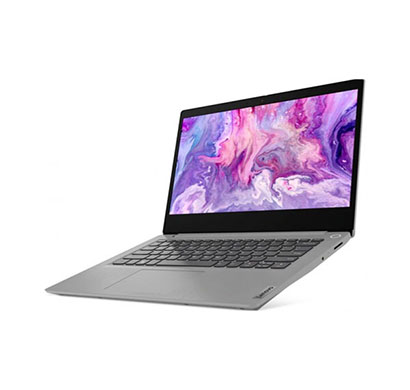 lenovo ideapad slim 3i (81wd00k0in) laptop (intel core i3-1005g1/ 10 th gen/ 4gb ram/ 1tb hdd/ dos/ integrated intel uhd graphics/ 14 inch), platinum grey