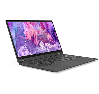 lenovo ideapad flex 5 (81x10083in) touch laptop (intel core i3-1005g1/ 10th gen/ 4gb ram/ 256gb ssd/ windows 10 + ms office h&s 2019/ 14.0 fhd ips touch/ 1 year warranty), graphite grey