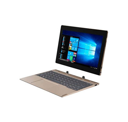 lenovo ideapad d330-10igm (81h30053in) laptop-tablet (intel celeron processor / 4gb ram / 128gb storage / windows 10 home / integrated graphics/ wi-fi only/ 10.1-inch) 1 year warranty