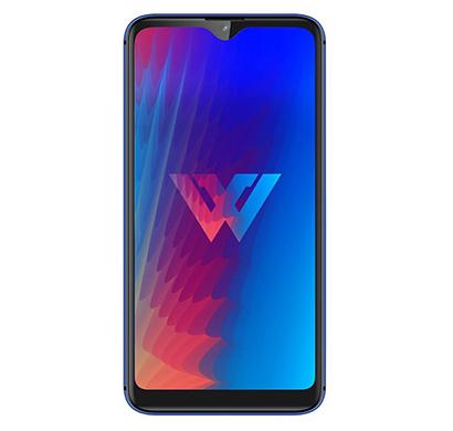 lg w30 (3 gb ram/ 32 gb rom/ 6.26-inch hd display), blue