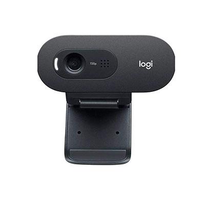 logitech c505e hd business webcam (black)
