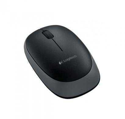 logitech m165 wireless mouse (black)