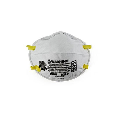 3m 8210 n-95 particulate respirator mask