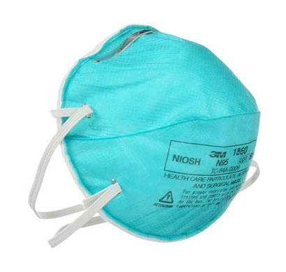 3m 1860 niosh n95 particulate respirator mask