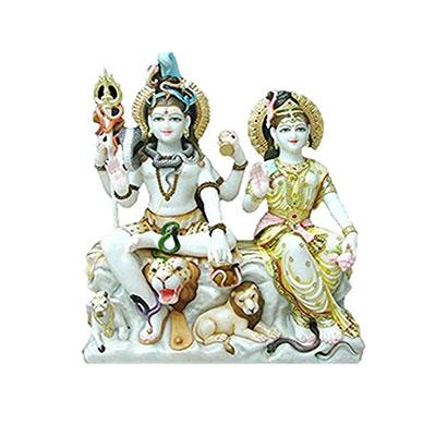 marble gori shankar murti