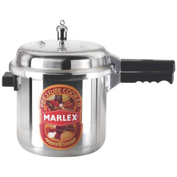 Marlex Aluminium Outer Lid Regular Premium 16 L Pressure Cooker