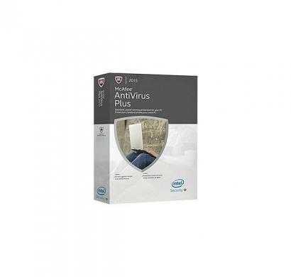 mcafee anti-virus - 10 pc, 1 year (cd)